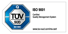 TÜV SÜD 9001 Certification Digial Twins